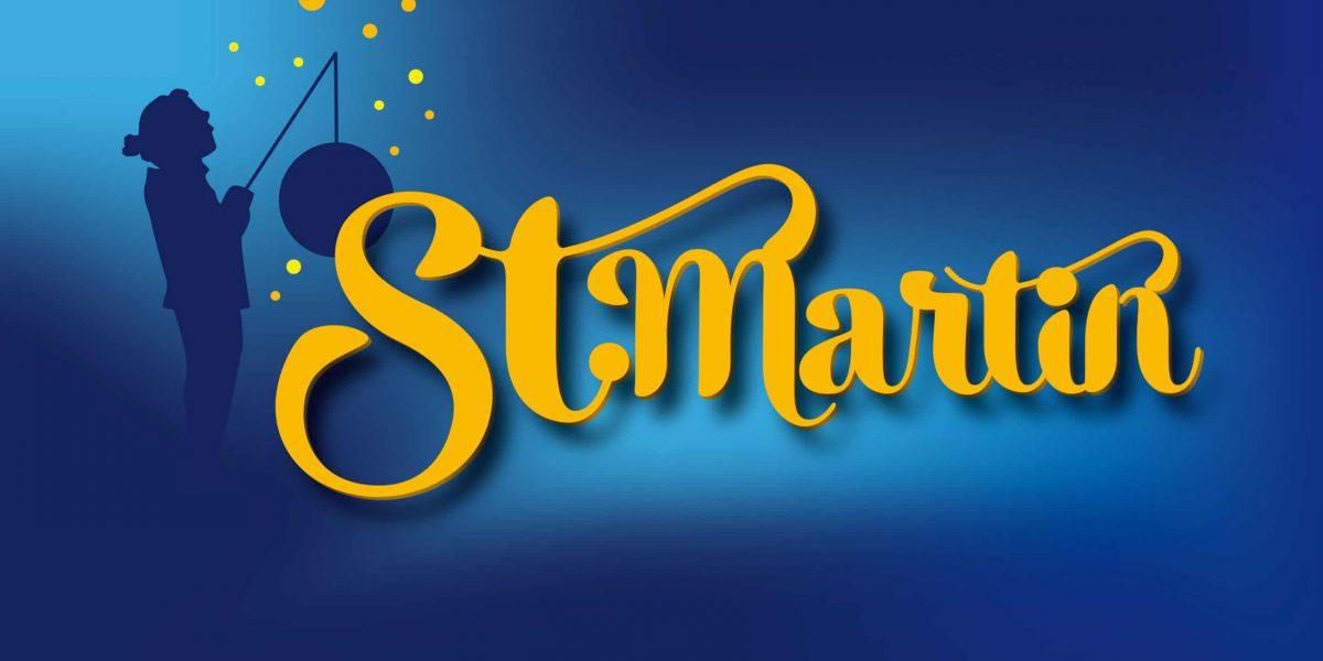St. Martin – Laterne und Sterne